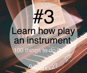 3, piano, and cute image
