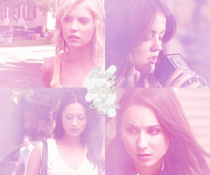pll, spencer hastings, and aria montgomery image