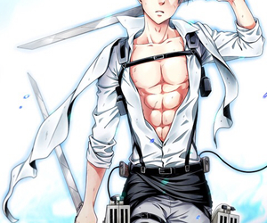 anime, levi, and Hot image