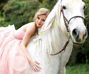 horse and princess image