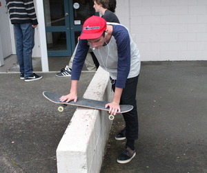 boy, skate, and style image