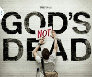 god, movie, and god's not dead image