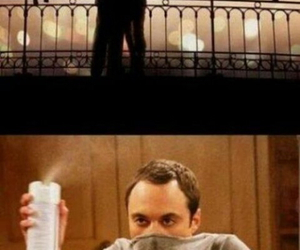 love, funny, and sheldon image