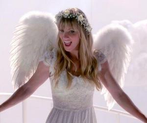 angel, glee, and heather morris image