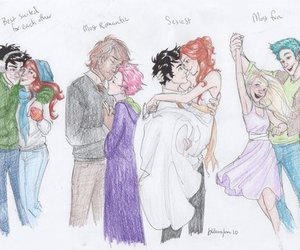 harry potter, couple, and james potter image