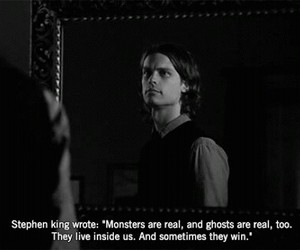 quotes, monster, and criminal minds image