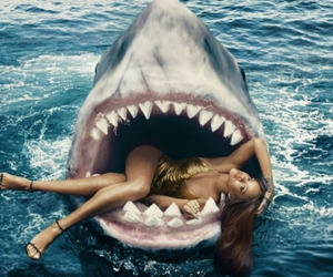 rihanna and shark image