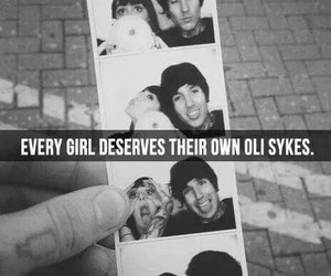 oliver sykes, hannah snowdon, and bmth image
