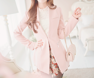 fashion, girly, and pink image