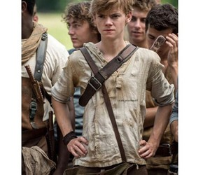newt, the maze runner, and boy image