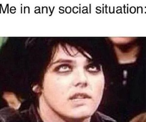 gerard way, my chemical romance, and funny image