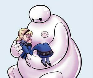 frozen, elsa, and big hero 6 image