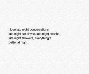 love, quote, and night image