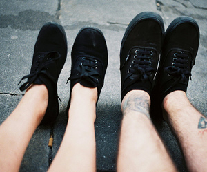 shoes, couple, and photography image