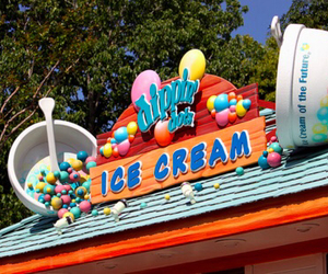 ice cream, dippin dots, and photography image
