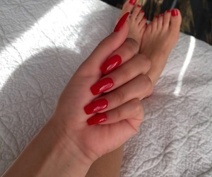 all, beautiful, and manicure image
