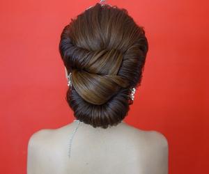 bridal, girl thing, and hair image