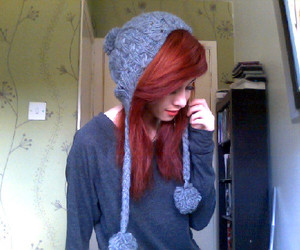 girl, red hair, and dink-182 image