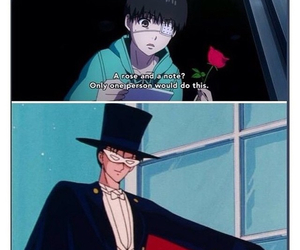 sailor moon and tokyo ghoul image