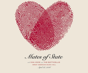 poster and mates of state image