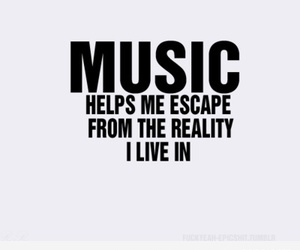 escape, funnt, and music is life image