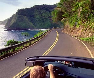 adventure, beach, and on the road image
