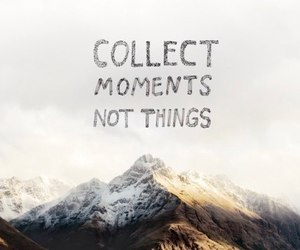 moment, quote, and collect image