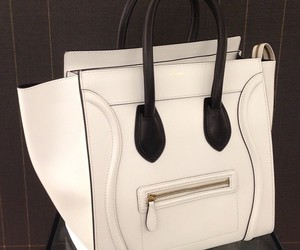 bag, celine, and black and white image