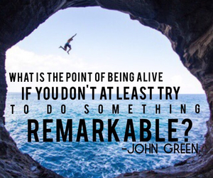 inspirational, john green, and quotes image
