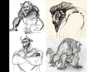 art, beast, and concept image