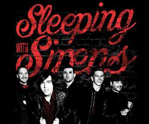 sleeping with sirens, band, and sws image