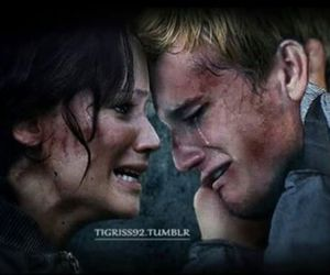 peeta, katniss, and josh hutcherson image