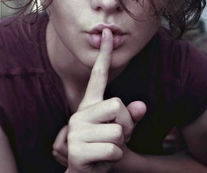 lips and shh image