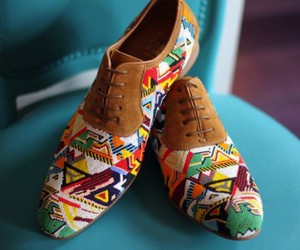 shoes, fashion, and tribal image