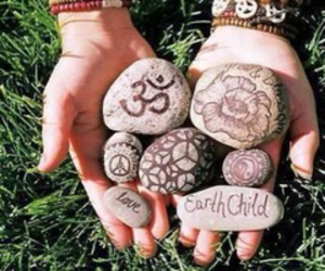 peace, hippie, and love image