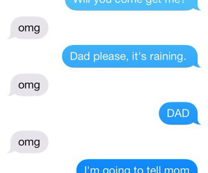 funny, dad, and OMG image