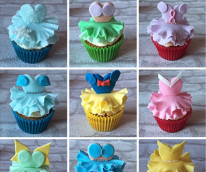cupcake, disney, and princess image
