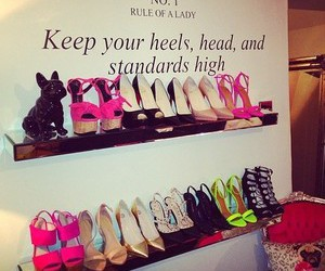 heels, shoes, and high image