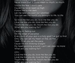 Ellie Goulding, song, and Lyrics image
