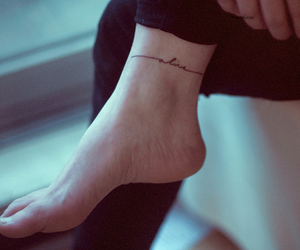 tattoo, alive, and feet image