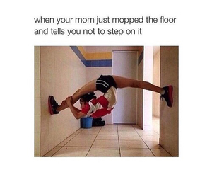funny, mom, and lol image