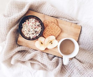 food, bed, and breakfast image