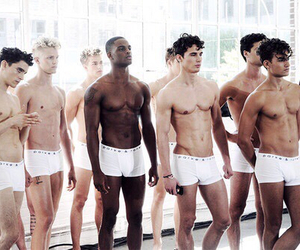 models, abs, and boy image