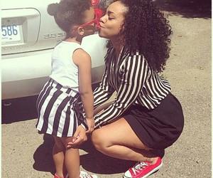 mom, child, and kiss image