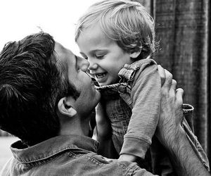 cute, child, and father image