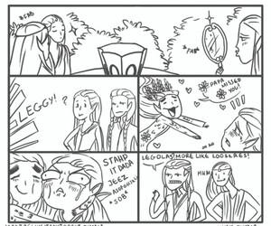 funny, Legolas, and lol image