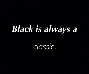 black, classic, and clothes image