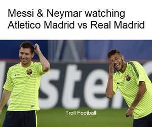 lol, messi, and neymar image