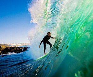 surf, paradise, and summer image