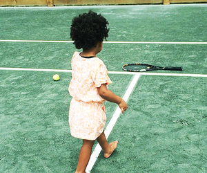 court, girl, and tennis image